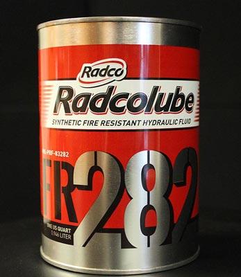 RADCOLUBE® FR282 - Military Lubricants - Hydraulic Fluid | Radco Ind