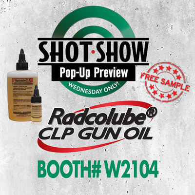 Shot Show Pop-Up Preview Radco Ind