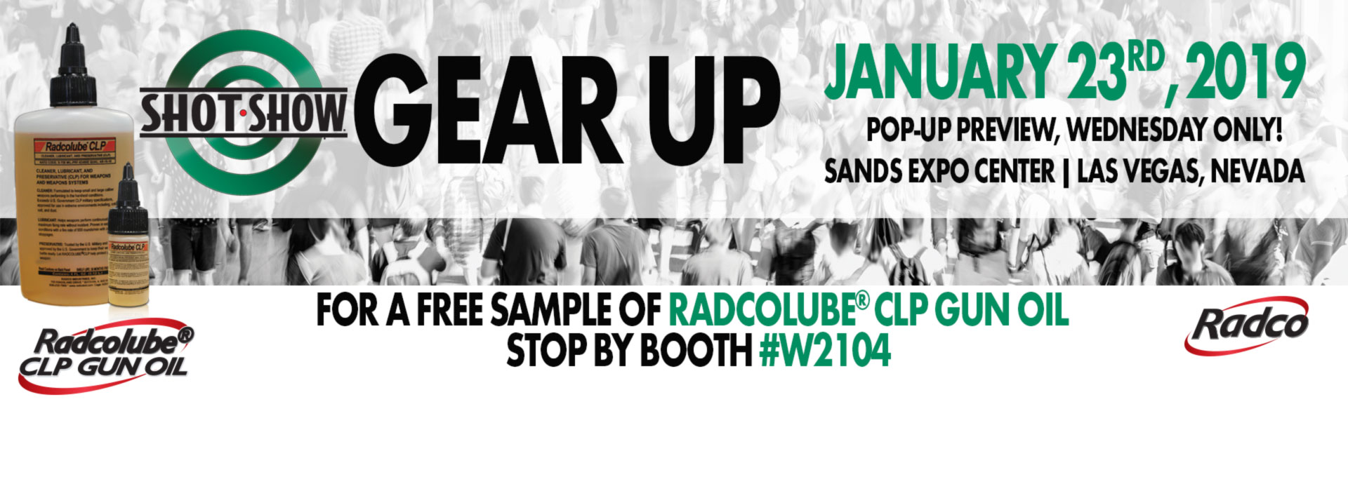 Radco Shot Show Pop Up January 23rd